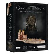 TRONO DI SPADE Puzzle 3D Diorama APPRODO DEL RE King's Landing 260 PEZZI 4D Cityscape
