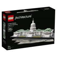 CAPITOL BUILDING WASHINGTON Diorama LEGO ARCHITECTURE 21030