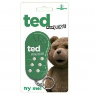 TED MOVIE Bad Bear KEYRING TALKING Movie Phrases ORIGINAL