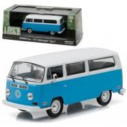 Modellino AUTOBUS Dal Telefilm LOST Volkswagen 1971 Type 2 Bus SCALA 1/43 DieCast Greenlight