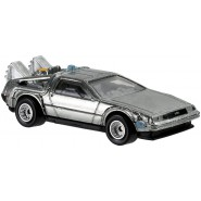 RITORNO AL FUTURO Modellino TIME MACHINE Normal Version DELOREAN 1/64 Hot Wheels DJF49