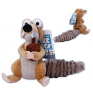 Plush SCRAT 20cm Original ICE AGE 1 2 3 4