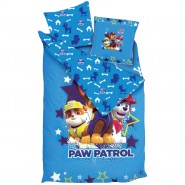 PAW PATROL Chase Rubble Marshall LITTLE STARS Single Bed Set DUVET COVER COTTON Original