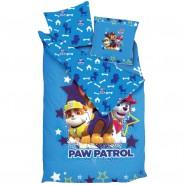 PAW PATROL Chase Rubble Marshall LITTLE STARS Single Bed Set DUVET COVER COTTON Original