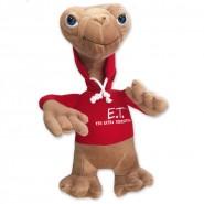 E.T. EXTRATERRESTRE con FELPA ROSSA Stupendo PELUCHE 30cm Originale UFFICIALE