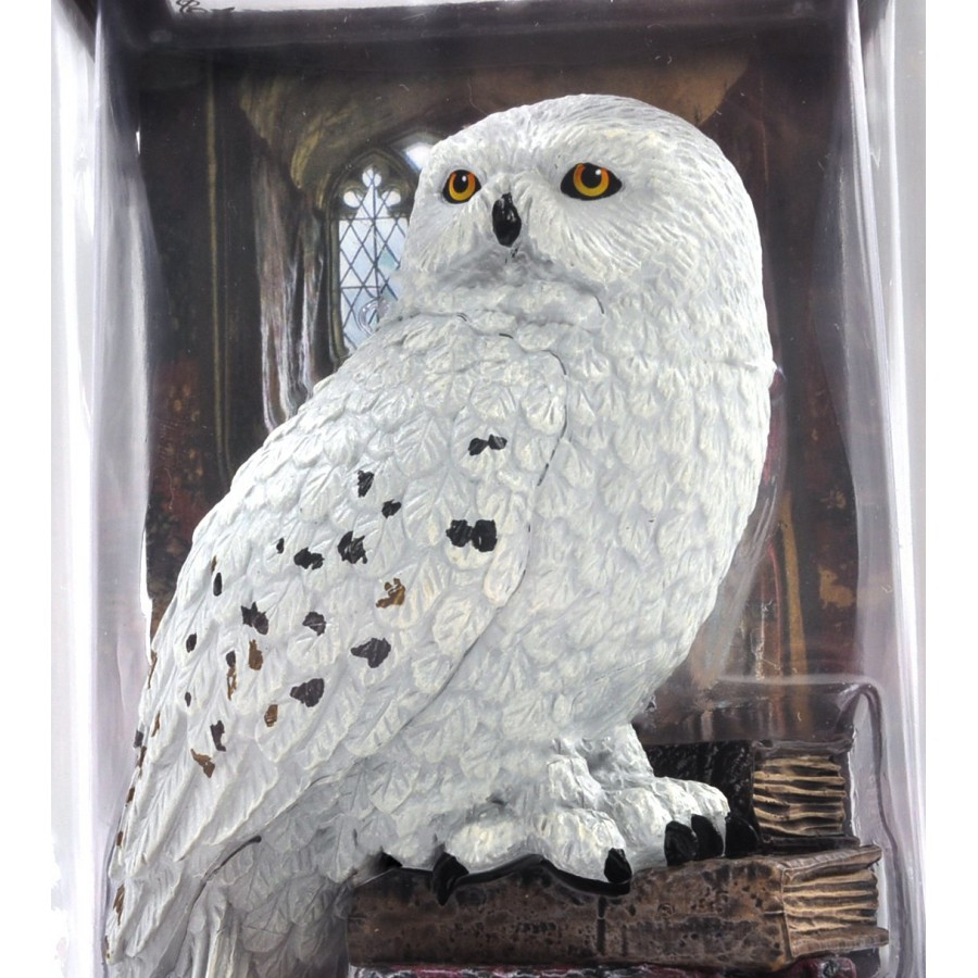 harry potter figura statua edvige hedwig civetta magical creatures ufficiale noble collection. Black Bedroom Furniture Sets. Home Design Ideas