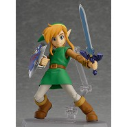 Figura Action LINK BETWEEN WORLDS Normal Version 11cm LEGEND OF ZELDA 2 FIGMA 284 Good Smile