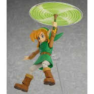 Figura Action LINK BETWEEN WORLDS Deluxe DX Version 11cm LEGEND OF ZELDA 2 FIGMA EX-032 Good Smile