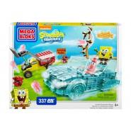 Spongebob PLAYSET Kit Costruzioni BOATMOBILE Invisibile MEGA BLOKS 337 Pezzi