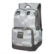MINECRAFT School BACKPACK Pixel GREY 43x32cm BIG ORIGINAL OFFICIAL