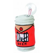 THE SIMPSONS Peluche LATTINA BIRRA DUFF 18cm Ufficiale UNITED LABELS Homer
