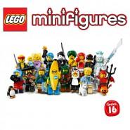SERIE 16 Mini LEGO Figures 71013 Set Completo 16 FIGURE Nuove BUSTINA