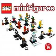 MINI LEGO Figures SERIE 16 Figura A VOSTRA SCELTA Nuova In Busta ORIGINALE New