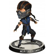 MORTAL KOMBAT X Figure SUB ZERO Bobble Head 15cm Official MEZCO Toys KNOCKER