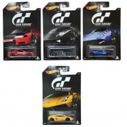 Game GT GRAN TURISMO Set 8 Models CAR Scale 1:64 MATTEL Hot Wheels DIE CAST Play Station