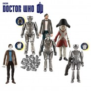 Figura Action DOCTOR Dr WHO 12cm Serie 6 CHARACTER WORLD Ufficiale FLESH BBC