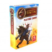 TINTIN Mazzo 52 CARTE DA GIOCO Poker Ramino PLAYING CARDS Cartamundi