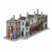 HARRY POTTER Diorama DIAGON ALLEY Puzzle 450 PIECES Official WREBBIT 3D
