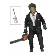 Retro Action Figure Leatherface 20cm TEXAS CHAINSAW MASSACRE Part 2 NECA