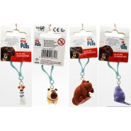 Secret Life of PETS Clip KEYRING Original OFFICIAL Illumination YOU CHOOSE