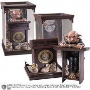 HARRY POTTER Figura Statua GOBLIN della BANCA GRINGOTTS MAGICAL CREATURES Ufficiale NOBLE COLLECTION