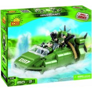 Playset HOVERCRAFT Small Army COBI 2316 Building Blocks 150 Pieces