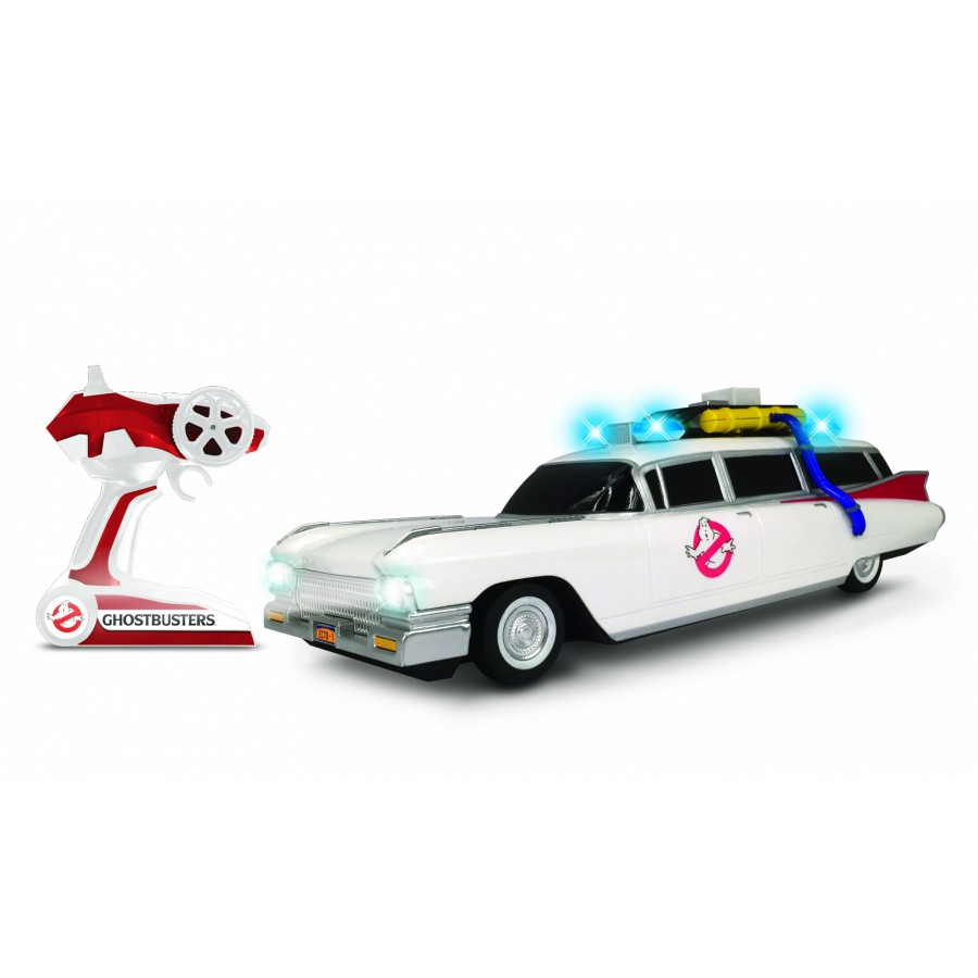 ghostbusters car model ecto 1 r c radiocontrolled 35cm. Black Bedroom Furniture Sets. Home Design Ideas