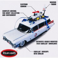 GHOSTBUSTERS Scale  EASY SNAP Model Kit ECTO-1 Scale 1/25 Polar Lights