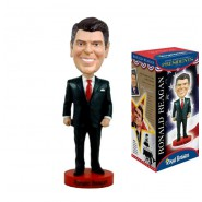 ROYAL BOBBLES Figura Statuetta RONALD REAGAN Presidente USA 20cm BOBBLE HEAD Originale