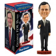 ROYAL BOBBLES Figura Statuetta GEORGE W BUSH Presidente USA 20cm BOBBLE HEAD Originale