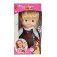 Bambola 30cm MASHA CANTANTE Musica Cartone ABITO TIROLESE Masha Orso ORIGINALE Simba Toys