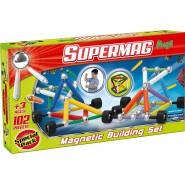 SUPERMAG Maxi WHEELS Ruote Confezione Speciale 102 PEZZI Costruzioni Magnetiche