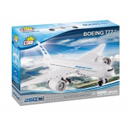 Playset AIRPLANE Plane BOEING 777 Constructions COBI 26261 Building Blocks 260 pieces