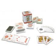 CANASTA Set LUSSO 162 Carte BOX METALLO Regole Segnapunti DAL NEGRO 90015