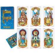 Deck Cards TAROTS OF THE STARS Tarocchi Stelle G. Tavaglione DEL NEGRO 42407
