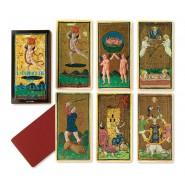 Mazzo Carte TAROCCHI DELLE STELLE G. Tavaglione DEL NEGRO 42407