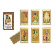 Mazzo Carte TAROCCO INDOVINO S. Ruffolo Tarocchi DEL NEGRO 43002