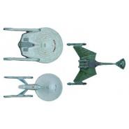 STAR TREK Set 3 MODELS Kit ENTERPRISE Scale 1:2500 NCC-1701 Cadet Serie