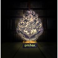 Lampada Led STEMMA Logo di HOGWARTS Harry Potter ORIGINALE Paladone