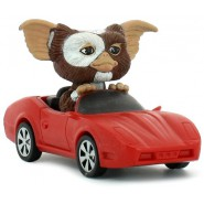 GREMLINS Figura GIZMO in AUTOMOBILE 10cm MOTORIZED Originale NECA USA