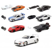 FAST and FURIOUS Set 6 Models CAR DieCast Scale 1/55 Dom Letty Brian ORIGINAL Jada