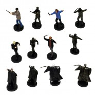 RARE SET 12 Figures HARRY POTTER Voldemort Ron Hermione Piton Draco FIGURES TOMY