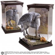 HARRY POTTER Figura Statua FIEROBECCO IPPOGRIFO Hagrid MAGICAL CREATURES Ufficiale NOBLE COLLECTION