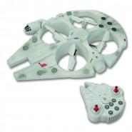 MILLENNIUM FALCON Star Wars DRONE Volante 35cm RADIOCOMANDATO R/C Originale GIOCHI PREZIOSI / Thinkway Toys