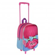 POPPY from TROLLS School Mini TROLLEY BACKPACK 31x25cm Original