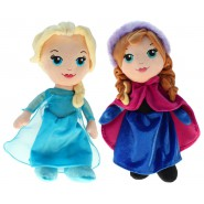 FROZEN Couple 2 PLUSHIES 30cm ELSA and ANNA Official Original