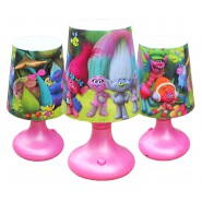 TROLLS Mini Lampada Led 19cm PRINCIPESSA POPPY Originale