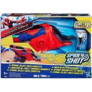 LANCIA RAGNATELE a SPIRALE Playset Giocattolo UOMO RAGNO Spider Man HASBRO