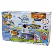 Super Wings Playset AEREOPORTO World Airport VERSIONE ITALIANA Luci Suoni GIOCHI PREZIOSI