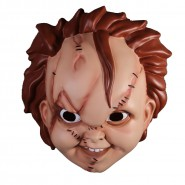 MASK Adult BRIDE OF CHUCKY Doll OFFICIAL Carnival MEZCO Child's Play